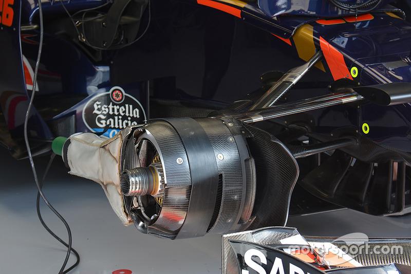 Frenos delanteros de Toro Rosso