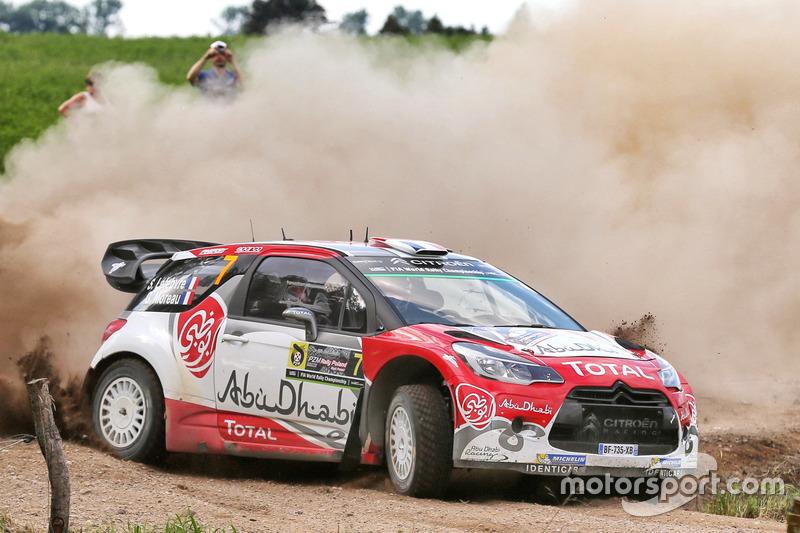 Стефан Лефевр и Габин Моро, Abu Dhabi Total World Rally Team