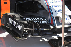 Felipe Massa, Williams F1 Team front wing