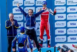 Podio: Nicolas Prost, Renault e.Dams e Alain Prost,  Renault e.Dams
