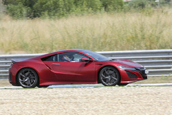 Der Honda NSX, gefahren von Fernando Alonso