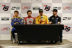 Andretti Autosport: Marco Andretti, Carlos Munoz, Ryan Hunter-Reay und Alexander Rossi