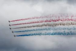 Воздушное шоу пилотажной группы Red Arrows