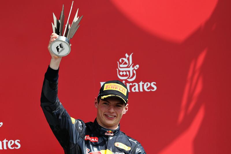 10. GP de Gran Bretaña 2016: Max Verstappen (2º)