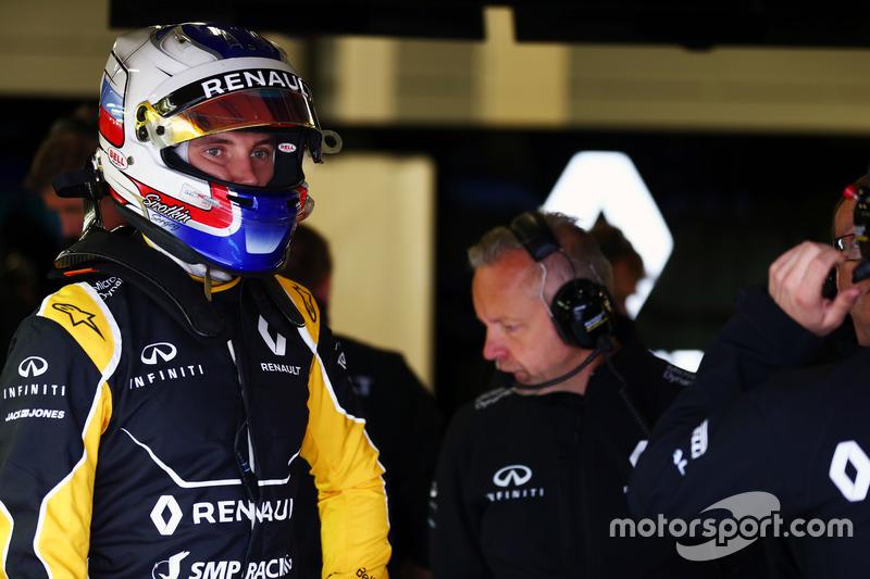 Sergey Sirotkin, piloto probador Renault Sport F1 Team