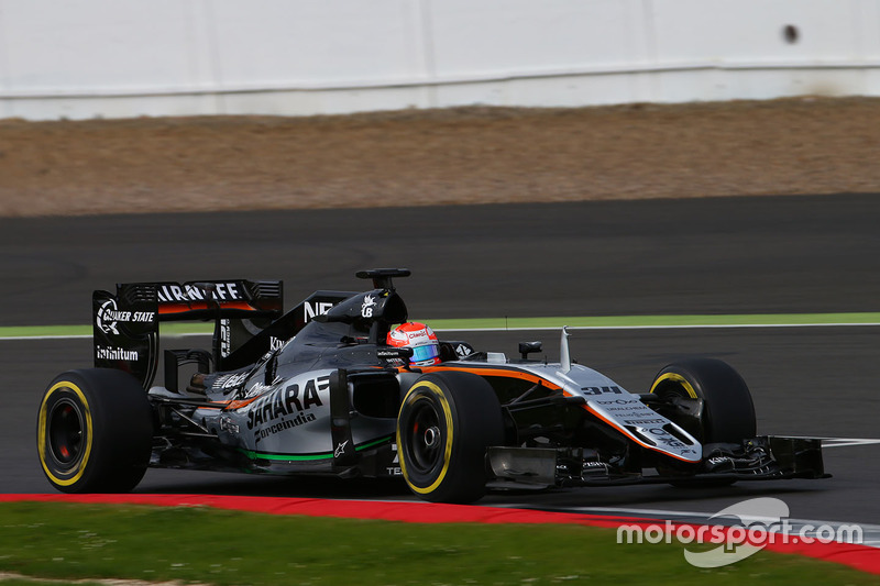 Nikita Mazepin, Sahara Force India F1 VJM09 Piloto de desarrollo