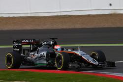 Никита Мазепин, пилот по развитию Sahara Force India F1 VJM09