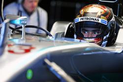 Паскаль Верляйн, тест-пилот Mercedes AMG F1 W05 Hybrid