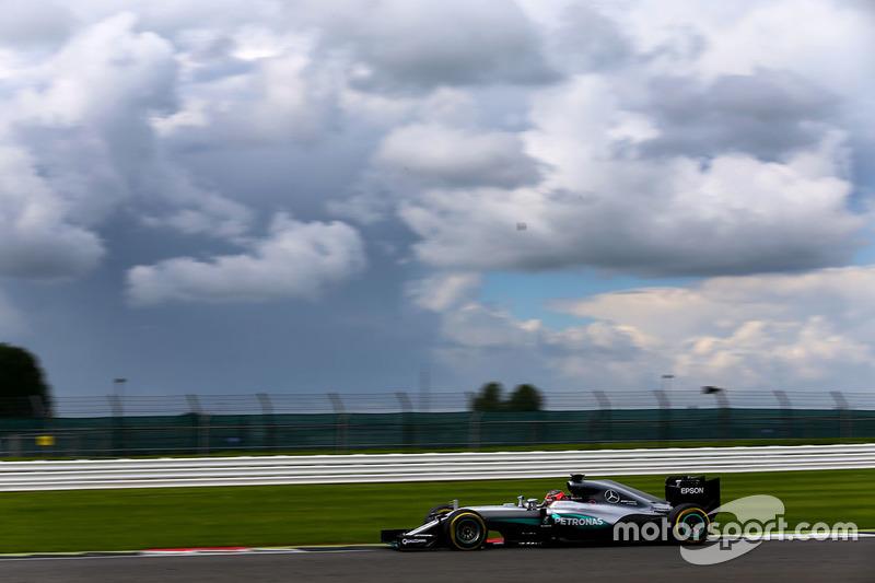 Esteban Ocon, Mercedes AMG F1 W07 Hybrid Piloto de prueba