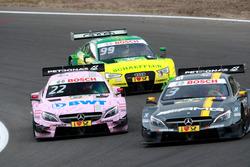 Paul Di Resta, Mercedes-AMG Team HWA, Mercedes-AMG C63 DTM; Lucas Auer, Mercedes-AMG Team Mücke, Mercedes-AMG C63 DTM