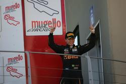Podium: winner Giuliano Raucci, Diegi Motorsport