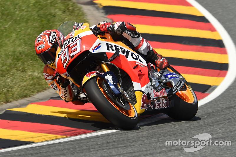 Deutschland, Sachsenring: Marc Marquez (Honda)