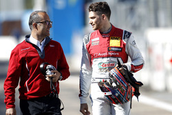 Edoardo Mortara, Audi Sport Team Abt Sportsline, Audi RS 5 DTM with his engineer