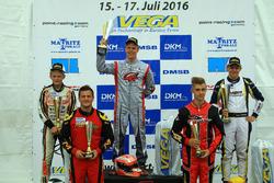 DSKC Rennen 2: 1. Patrick Kreutz; 2. Max Tuppen; 3. David Detmers; 4. Christoph Hold; 5. Maximilian Paul