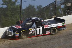 Crash: Jake Griffin, Red Horse Racing, Toyota