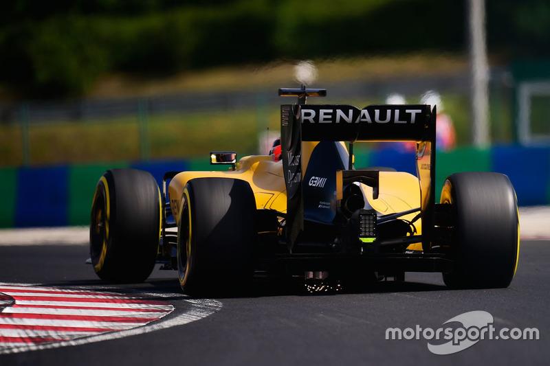 Esteban Ocon, Renault Sport F1 Team RS16 Test Driver