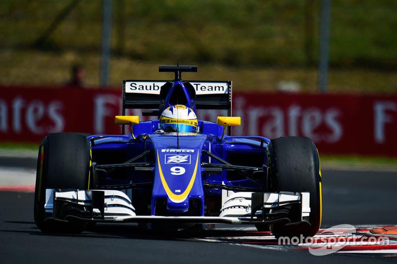 20. Marcus Ericsson, Sauber C35