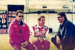 Action Power - Carlos Ramoa, Ingo Hoffmann e Paulo de Tarso - 1997 (Foto: Sanderson)