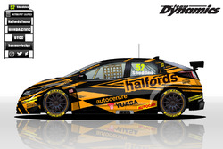 Honda Yuasa Racing BTCC livery concept