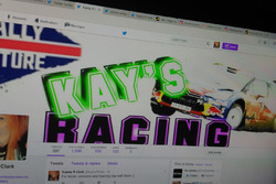 My official twitter account with my kays racing graphics :)