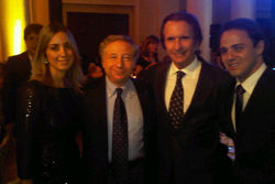Jean Todt and Emerson Fittipaldi