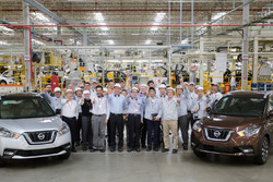Nissan Kicks na fábrica de Rezende