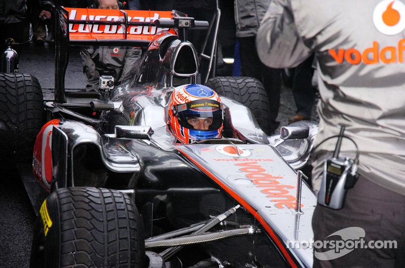 F1 driver Jenson Button - McLaren Mercedes team