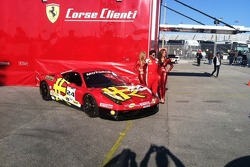 Just enough Ferrari red for Carlos Kauffmann and the MOMO Grid Girls