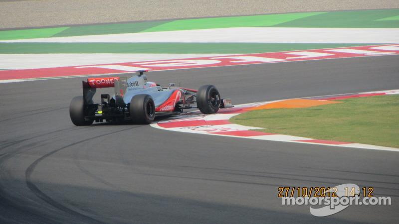Hamilton at turn 1