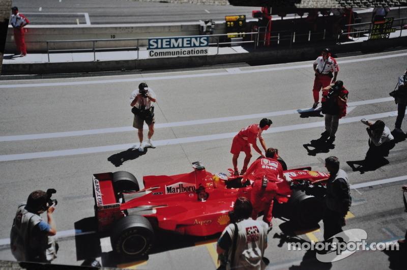 Michael Schumacher at Circuit de Catalunya, Spanish GP 1998