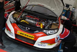 Shedden's engine bay