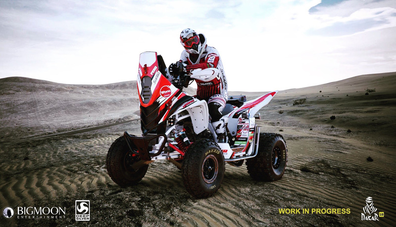 Скриншот из игры Dakar 18