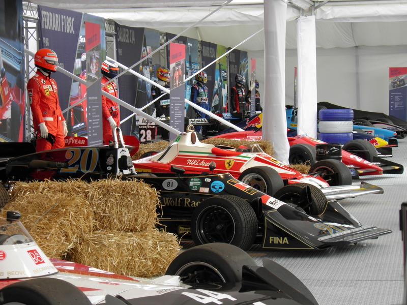 Legends Formula cars