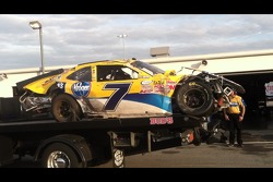 Regan Smith after flip
