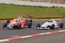 Triple battle for the lead with Giacomello, Stedile and Rouver