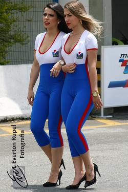 Brazilian Moto 1000 GP championship, paddock beauties