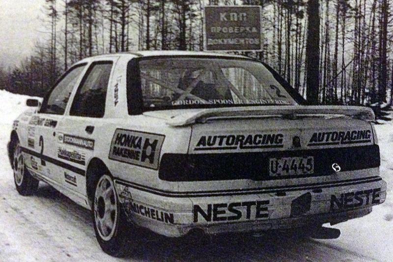 Себастьян Линдхольм на Hankiralli 1992