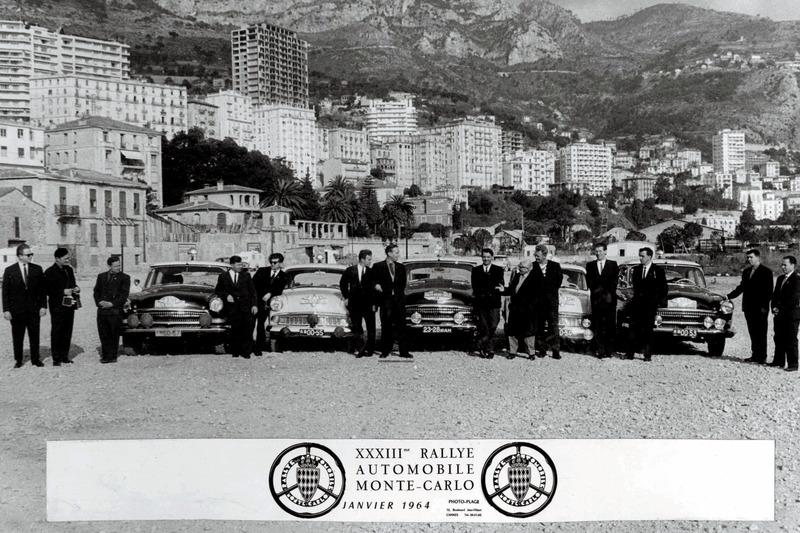 1964 год. Советские экипажи – участники Ралли Монте-Карло