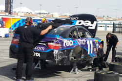 Denny Hamlin crash damage