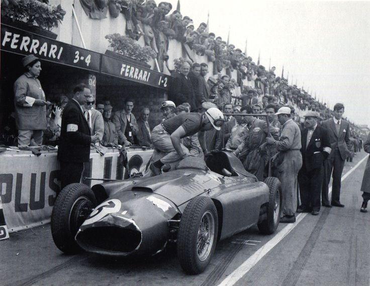 Alfonso de Portago, 2º en el GP de Gran Bretaña 1956*