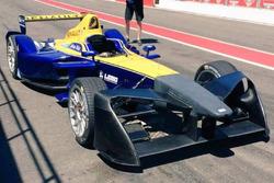 Formula E test aerodinamici Renault