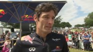 Red Bull Racing 2011 - Interview with Mark Webber at Goodwood