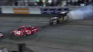 Newman Sent Into Wall - Richmond International Raceway 2011