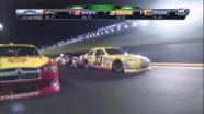 Carl Edwards Causes Wreck - Daytona International Speedway 2011