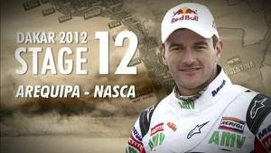 Dakar 2012 - Marc Coma - Stage 12