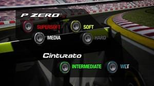 Pirelli 2012 F1 Tyres