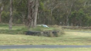 Test Day Excitement for Lee Holdsworth