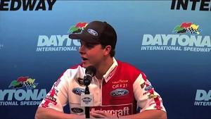 Press Conference Daytona 500 Qualifying T Bayne