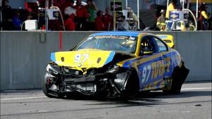 Turner Motorsports BMW M3 Crash + Rebuild (Time Lapse)