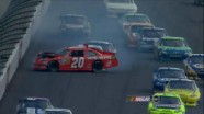 Big Wreck on Lap 156 - Michigan - 06/17/2012